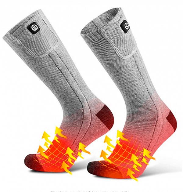 calcetines con batería