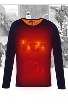 camiseta calefactable